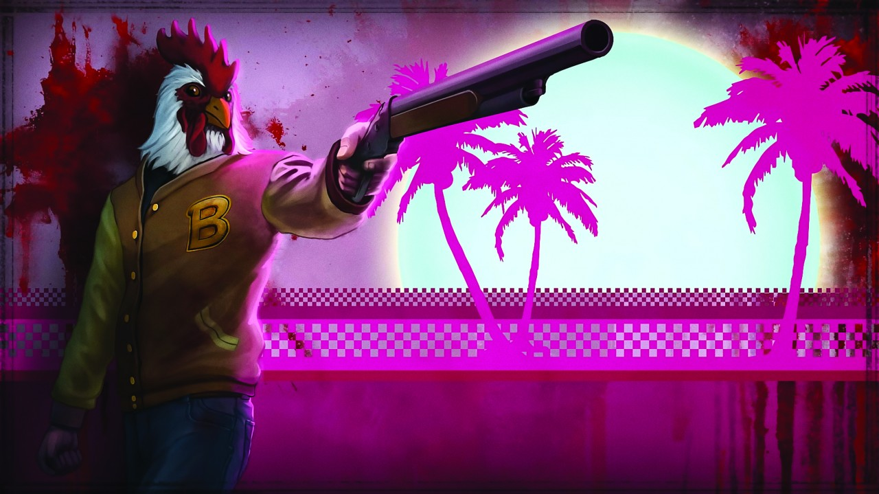 Постер Hotline Miami - Хотлайн Майами