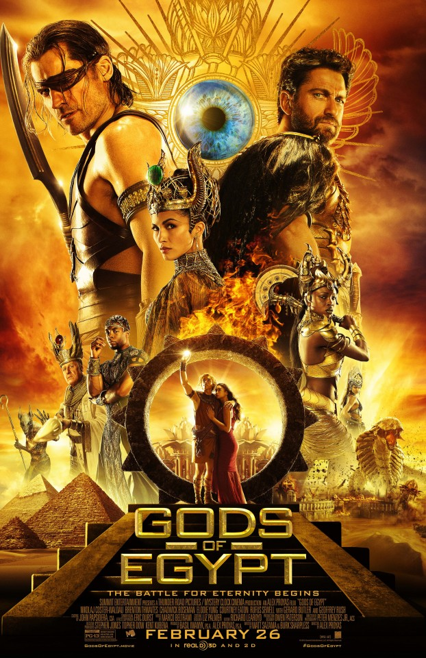 Постер Gods of Egypt - Боги Египта