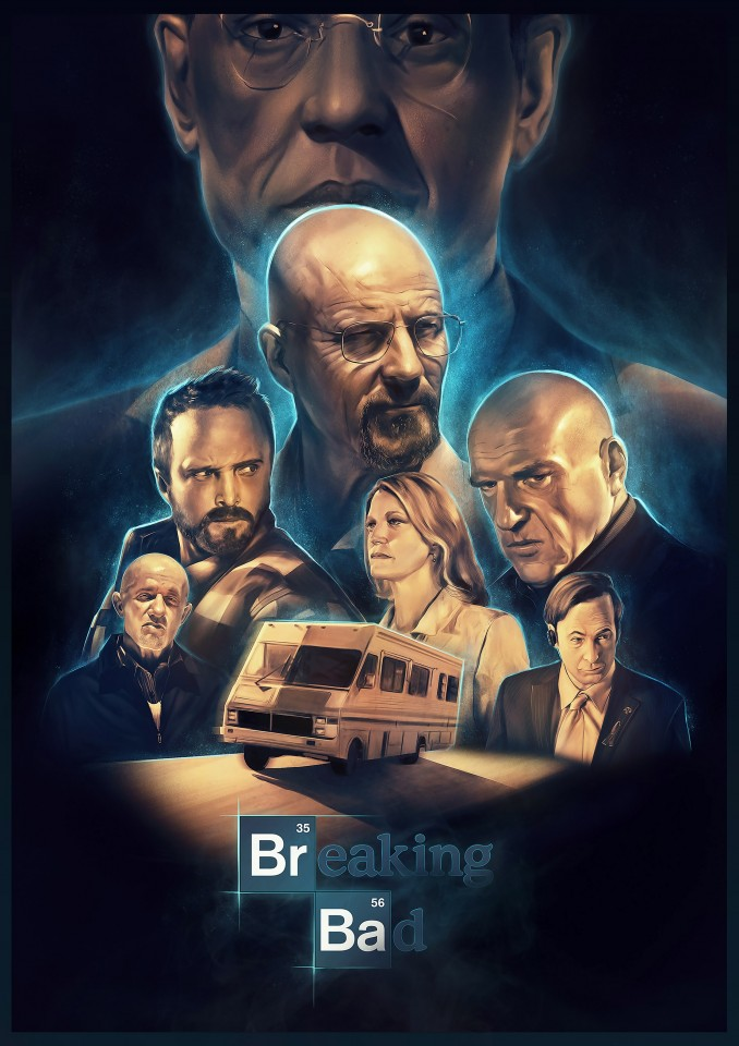 Постер Breaking bad - Во все тяжкие