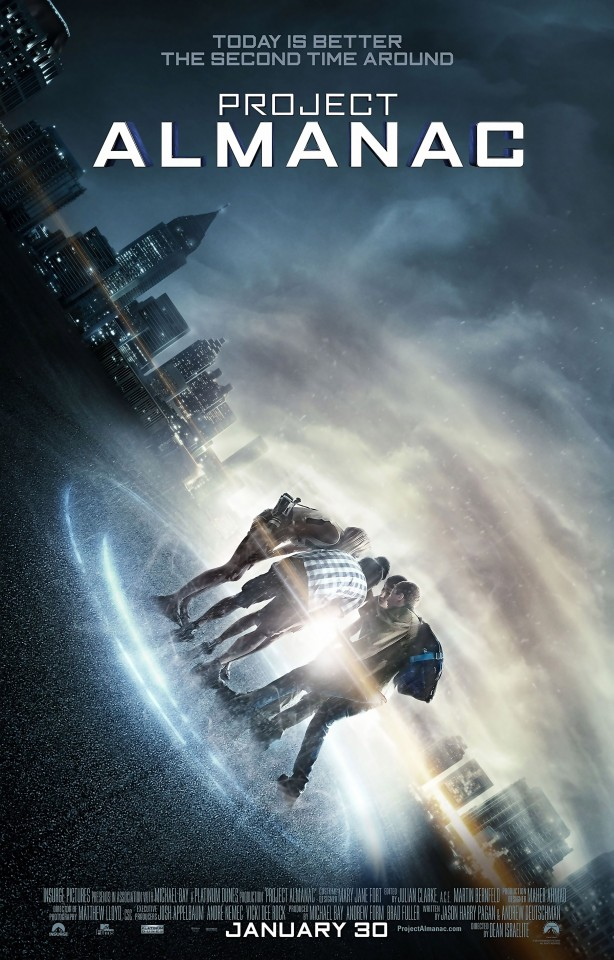 Постер Project Almanac - Континуум