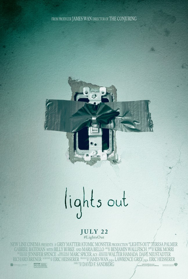 Постер Lights Out - И гаснет свет...