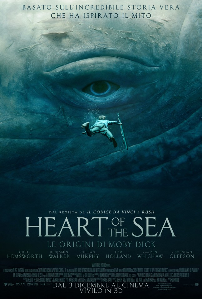 Постер Heart of the Sea - В сердце моря