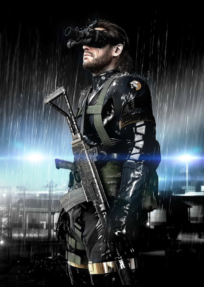 Постер Metal Gear Solid V: Ground Zeroes - Метал Гир Солид 5: Граунд Зеро