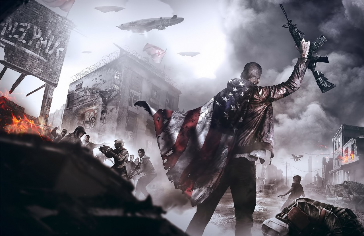 Постер Homefront: The revolution - В тылу: Революция
