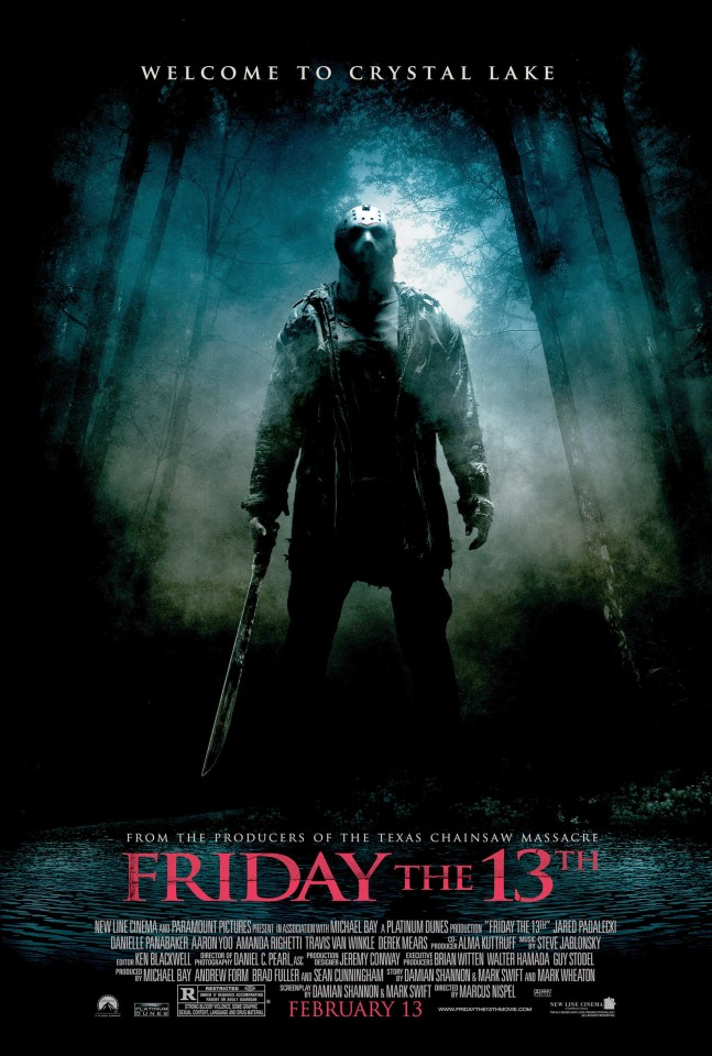 Постер Friday the 13th - Пятница, 13-е