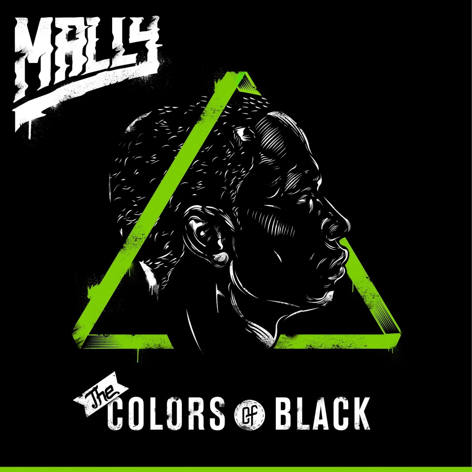 Постер The Colors of Black: Mally - Черного чвета: Малли
