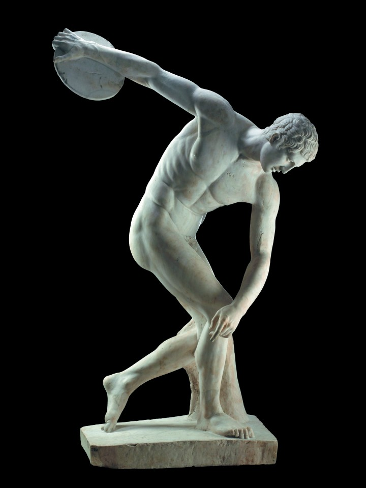 Постер The Discus Thrower of Myron - Метатель диска из Мирона