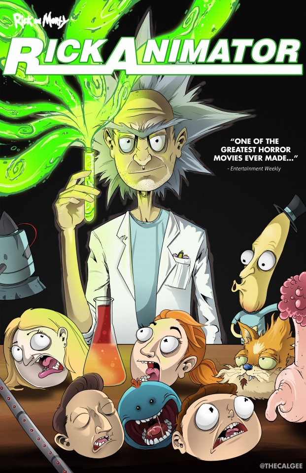 Постер Rick and Morty: Re-Animator - Рик и Морти: Реаниматор
