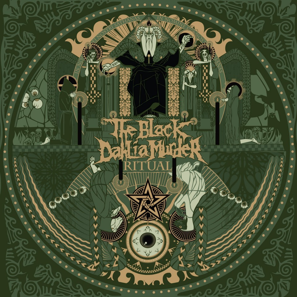 Постер The Black Dahlia Murder - Ritual