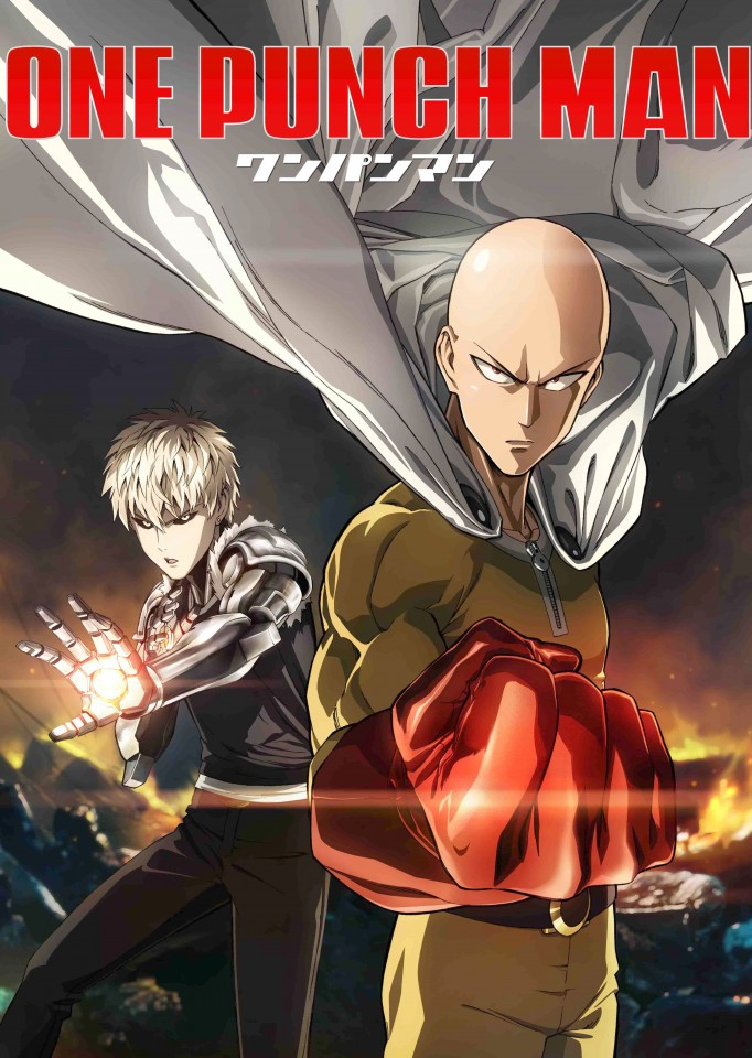 Постер One Punch Man - Ванпанчмен