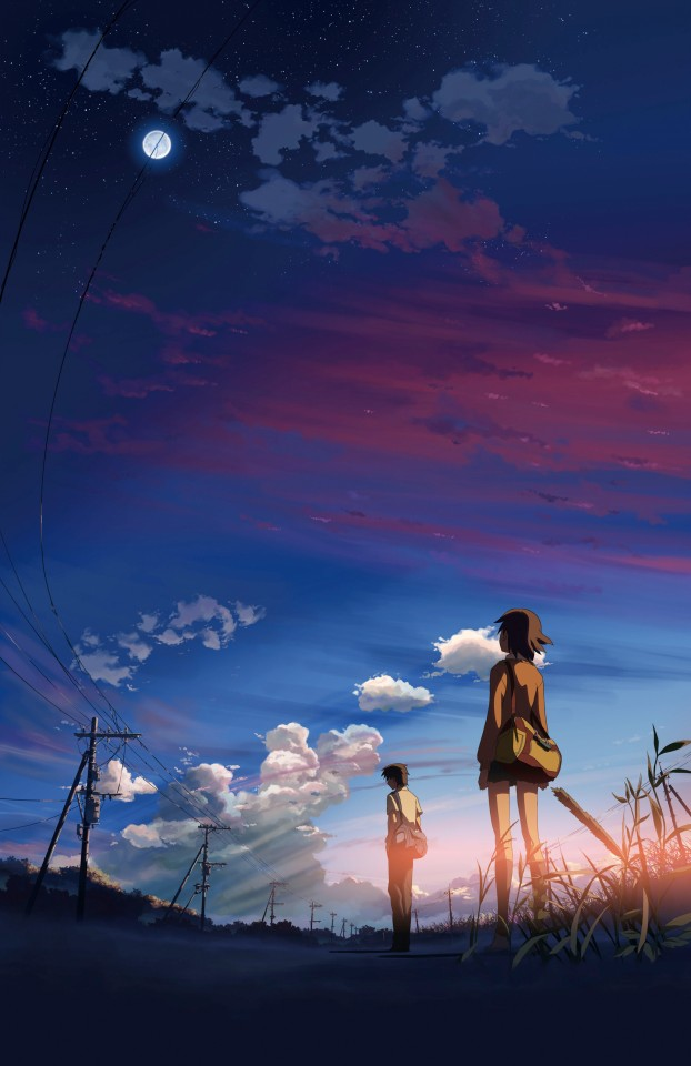 Постер 5 Centimeters Per Second - 5 сантиметров в секунду
