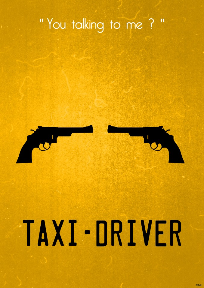 Постер Taxi Driver: You talking to me? - Таксист