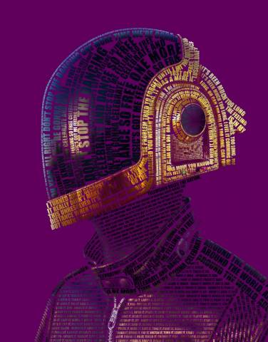 Daft Punk Purple