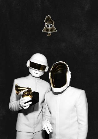 Daft Punk White Suits