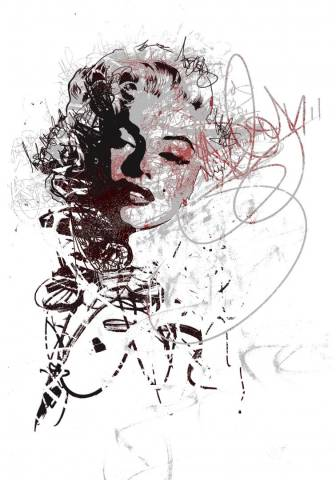 Marilyn Monroe - Abstract