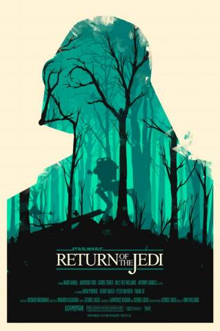 Star Wars - Flat Return of the Jedi