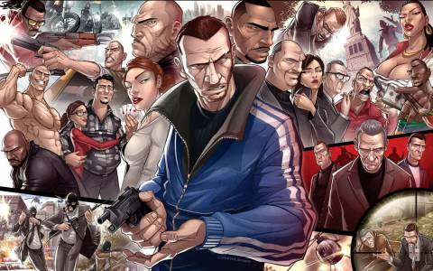 Grand Theft Auto - GTA Set