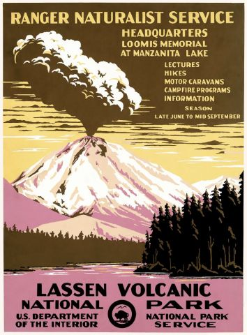 National park - Lassen Volcanik