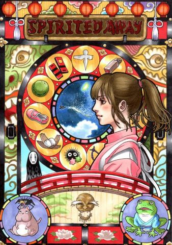 Art nouveau - spirited away