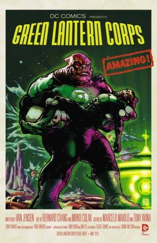 Forbidden Planet - Green Lantern
