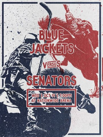 Blue Jackets VS Senators