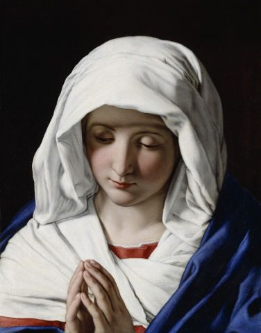 Virgin Mary - Salvi Giovanni Battista