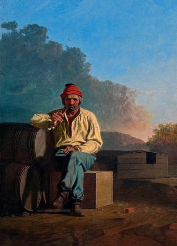 Mississippi Boatman - George Bingham