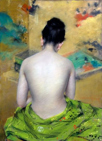 Back Of A Nude - Chase William M.