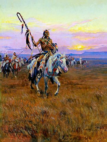 Charles Marion Russell - Medicine Man