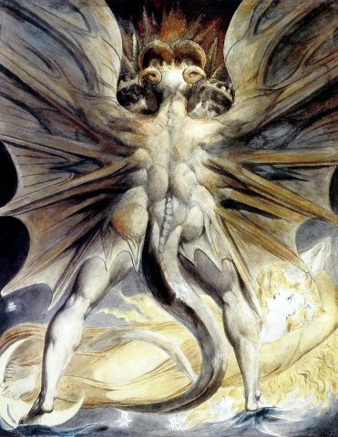 William Blake - the Great Red Dragon