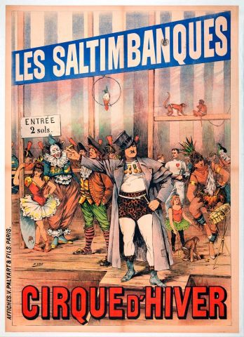 Henry Gray - Les Saltimbanques